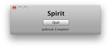 Howto Iphone Jailbreak mit Spirit Foto 3