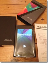 Nexus7 bereit für ebay