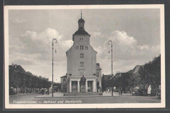 Das Rathaus Treuenbrietzen im Jahr 1939