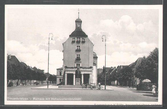 Das Rathaus Treuenbrietzen vor 1938