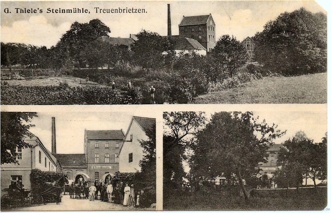 Die Steinmühle im Jah 1909