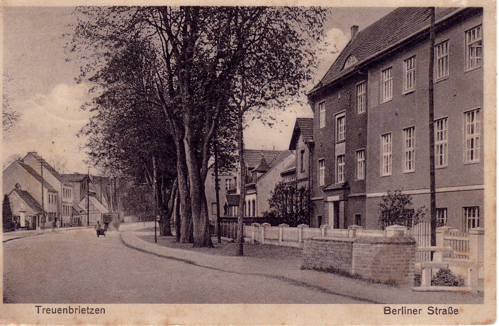 Berliner Straße 1935 Treuenbrietzen