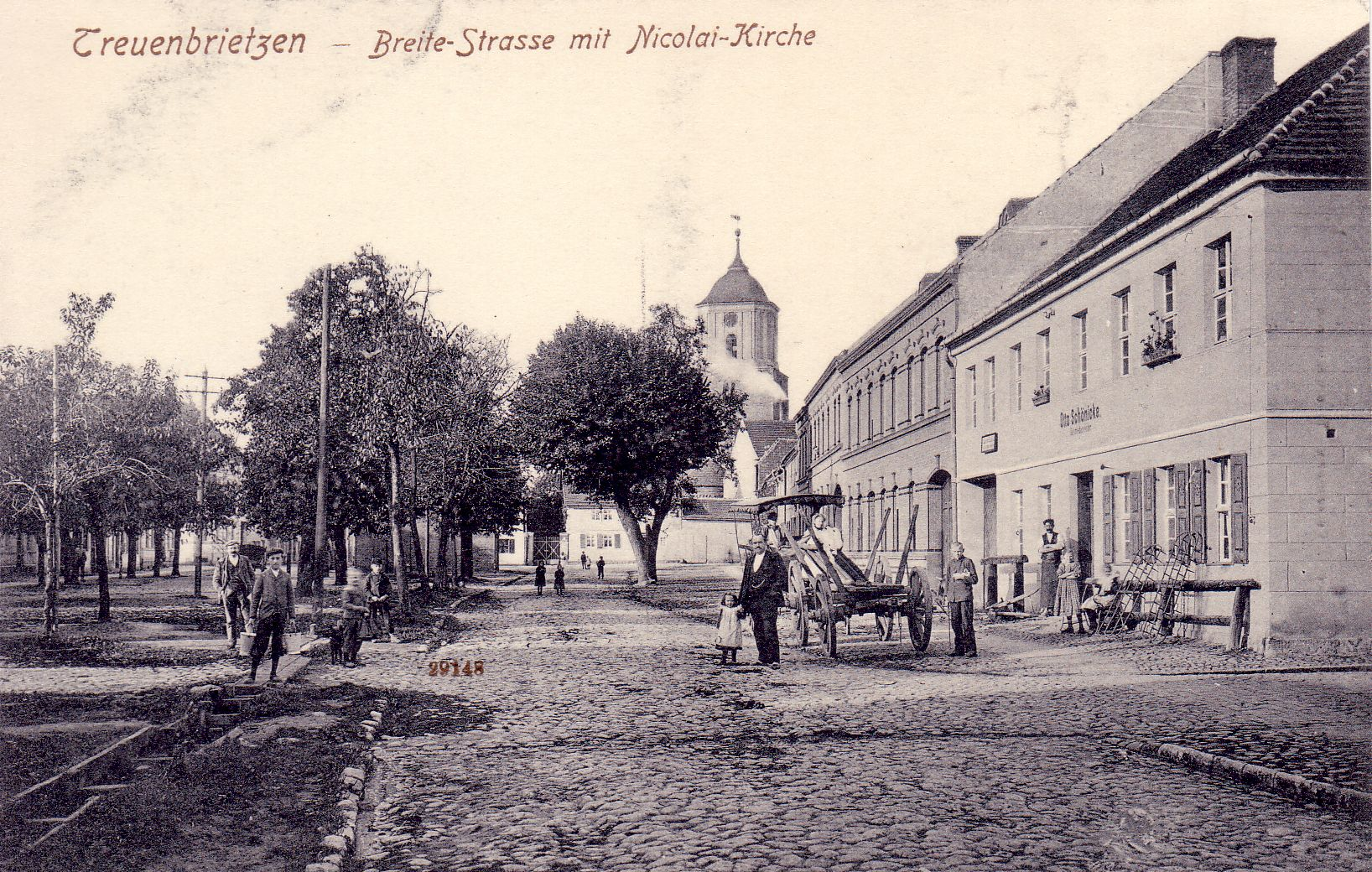Breite Straße mit Nikolaikirche