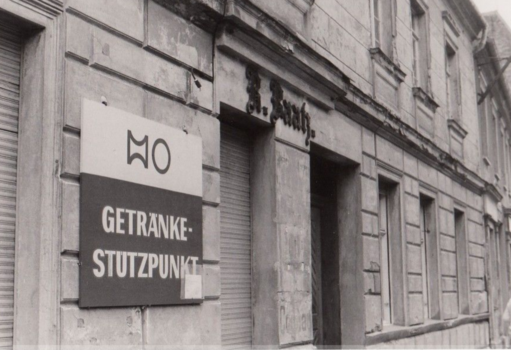 HO Getränkestützpunkt Treuenbrietzen DDR