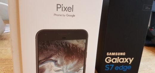 Google Pixel vs. Samsung S7 Edge