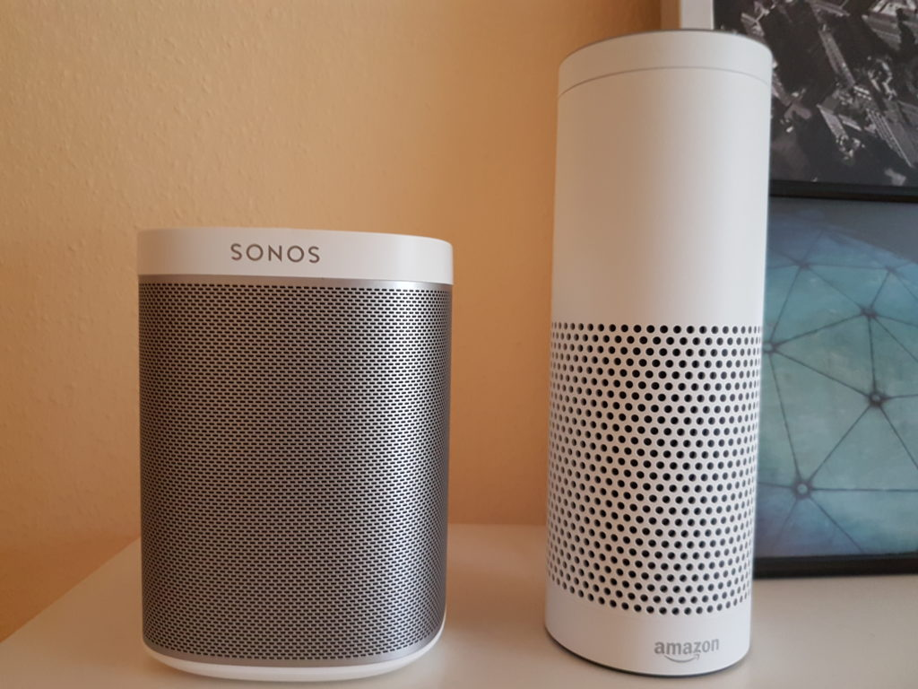 Amazon Echo und Sonos Play:1