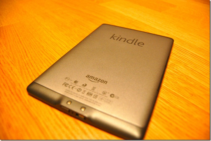 amazon kindle backside
