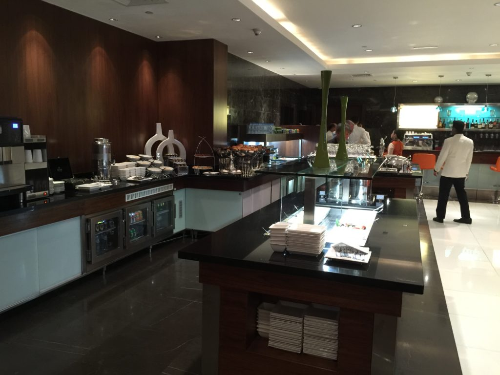 Etihad Lounge in T1