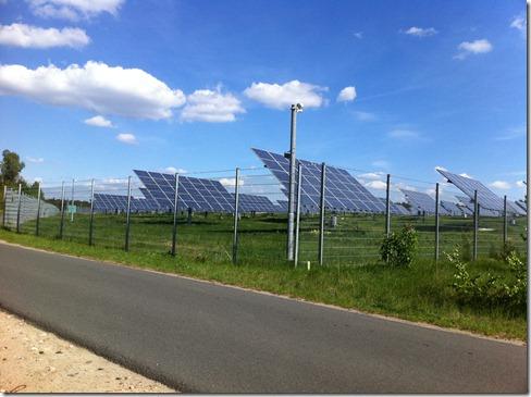 Solarpark Selterhof Lüdendorf Treuenbrietzen