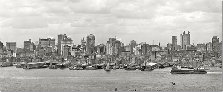 Manhattan Panorama, 1906