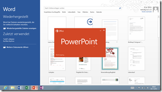 Word Powerpoint 2013 Windows RT