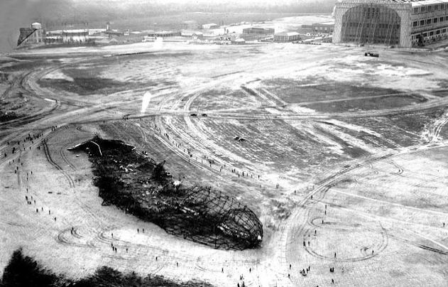 Hindenburg Absturz