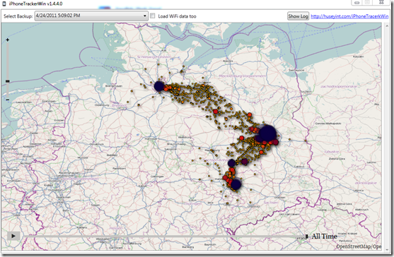 iPhoneTrackerWin v1.4.4