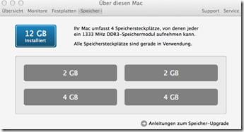 Imac 12 GB RAM