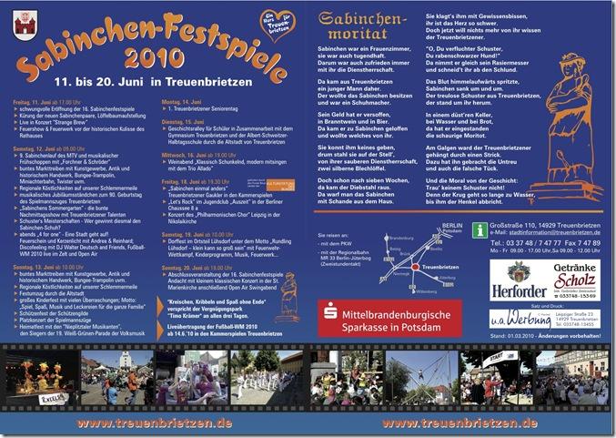 treuenbrietzen sabinchenfestspiele 2010